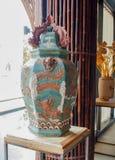 De cerámica vietnamita, expo 2015, Milán Foto de archivo libre de regalías