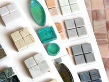 De ceramiektegel van de inzameling Stock Afbeelding