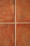 De ceramiektegels van het terracotta Royalty-vrije Stock Afbeelding