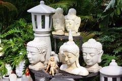 De ceramische Cijfers van Boedha Royalty-vrije Stock Foto