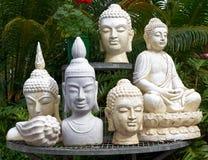 De ceramische Cijfers van Boedha Stock Foto's