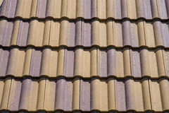 De ceramische Tegels van het Dak Royalty-vrije Stock Afbeelding
