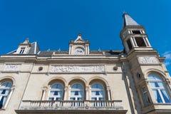 De Cercle gemeentelijke bouw in Luxemburg stock fotografie