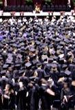 De ceremonie van de graduatie Royalty-vrije Stock Afbeelding