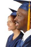 De ceremonie van de graduatie Stock Foto's