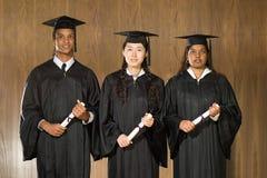 De ceremonie van de studentengraduatie royalty-vrije stock foto's