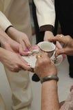 De ceremonie van de thee Stock Afbeeldingen