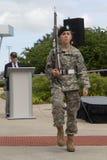 De Ceremonie van de veteranendag Stock Foto