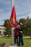 De Ceremonie van de veteranendag Royalty-vrije Stock Foto's