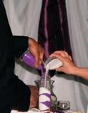 De ceremonie van het eenheidszand Royalty-vrije Stock Fotografie