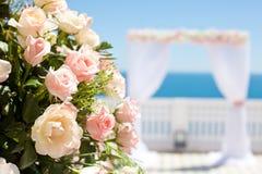 De ceremonie van het huwelijk Royalty-vrije Stock Foto's