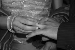De Ceremonie van het huwelijk Stock Fotografie