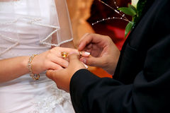 De Ceremonie van het huwelijk Royalty-vrije Stock Foto