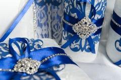 De ceremonie van het huwelijk in openlucht De decoratie van de huwelijksceremonie, mooi huwelijksdecor, bloemen royalty-vrije stock afbeelding