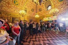 De ceremonie van het toekennen van de winnaars van Toekenningstraiteur van het Jaar Royalty-vrije Stock Foto