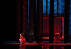 De chambre-Le l'acte nuptiale d'abord des événements de drame-Shawan de danse du passé Image libre de droits