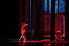 De chambre-Le l'acte nuptiale d'abord des événements de drame-Shawan de danse du passé Photos stock