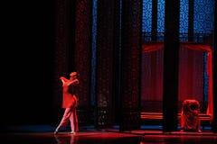 De chambre-Le l'acte nuptiale d'abord des événements de drame-Shawan de danse du passé Photo libre de droits