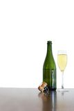 De Champagne toujours durée image stock
