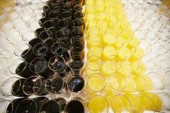 De champagne van de glazenwijn Royalty-vrije Stock Foto