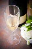 De champagne van het huwelijk Stock Foto