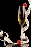 De champagne van het nieuwjaar Royalty-vrije Stock Afbeeldingen