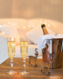 2012 de champagne van Kerstmis Royalty-vrije Stock Foto's