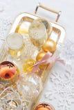 2012 de champagne van Kerstmis Royalty-vrije Stock Fotografie
