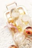 2012 de champagne van Kerstmis Royalty-vrije Stock Afbeeldingen