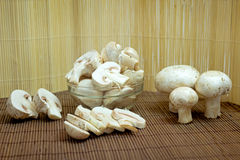 De champignons van paddestoelen Stock Foto's