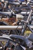 De chaos van de fiets Royalty-vrije Stock Afbeeldingen