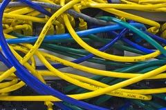 De chaos van het netwerk Stock Afbeelding