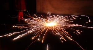 ` De Charka do ` os fogos-de-artifício revolvendo famosos na Índia Foto de Stock Royalty Free