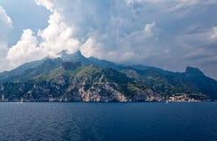 De charme van het Sorrentina-schiereiland Stock Fotografie