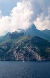De charme van het Sorrentina-schiereiland Stock Foto