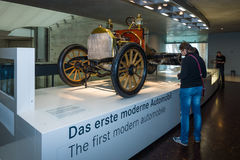De chassis Mercedes 35 PS, 1906 Stock Foto