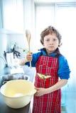 De chef-kok! Stock Foto