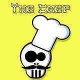 De chef-kok Stock Afbeelding