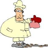 De Chef-kok van Butterfinger royalty-vrije illustratie