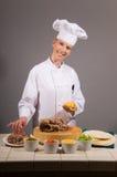 De Chef-kok van de taco Royalty-vrije Stock Foto