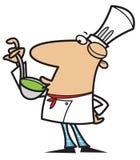 De chef-kok van het beeldverhaal Royalty-vrije Stock Foto