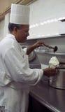 De Chef-kok van het dessert Stock Foto
