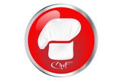 De chef-kok van het pictogram Royalty-vrije Stock Afbeelding