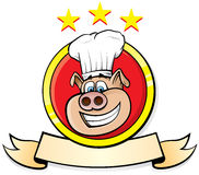 De Chef-kok van het varken Stock Foto