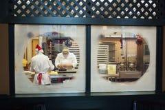 De Chef-koks van het Hotel van de dolfijn op het Werk Royalty-vrije Stock Fotografie
