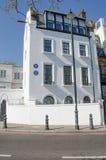 De Chelseawoonplaats van Hilaire Belloc nam nota van literair cijfer stock afbeelding