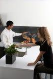 De chemie van de keuken Stock Afbeeldingen