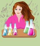 De Chemie van het MEISJE Stock Afbeelding