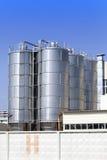 De chemische fabriek Rusland Royalty-vrije Stock Foto's