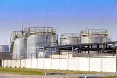 De chemische fabriek Rusland Royalty-vrije Stock Fotografie